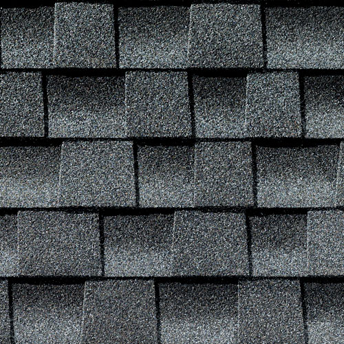 GAF Timberline Pewter Grey Colours