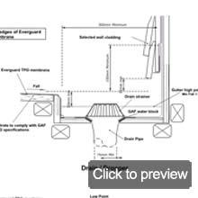 tpo drain detail
